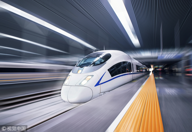 Travelers who smoke on bullet trains could find themselves banned from train travel for 180 days, according to new guidelines issued by China's government.[File Photo: VCG]