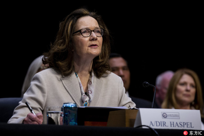 Gina Haspel. [File Photo: IC]