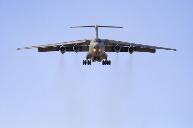 Chinese air force to send IL-76 aircraft to participate in New