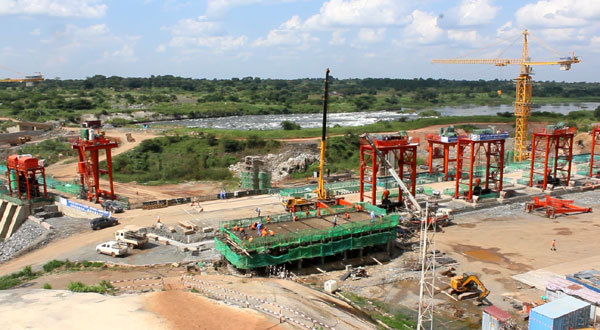 Locals hail Uganda's largest hydro power plant project financed by