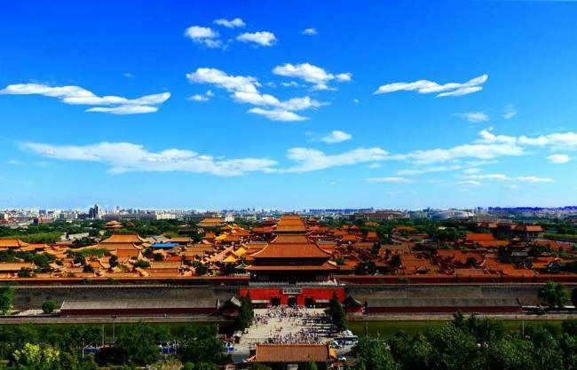 Undated photo of the Palace Museum in Beijing. [File photo: Xinhua]