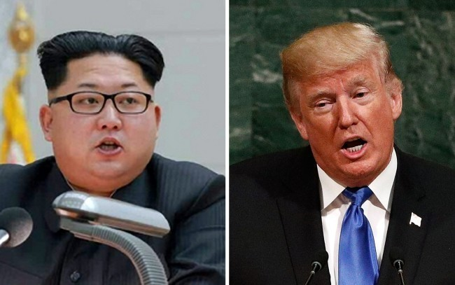 Kim Jong Un (L), top leader of the DPRK, and U.S. President Donald Trump (R) [Photo: China Plus]