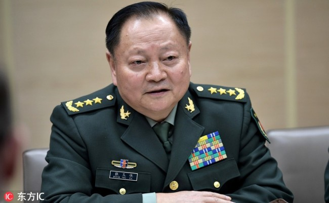 Zhang Youxia. [File Photo: IC]