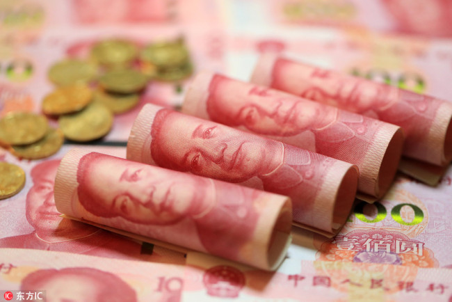 Renminbi [File photo: IC]