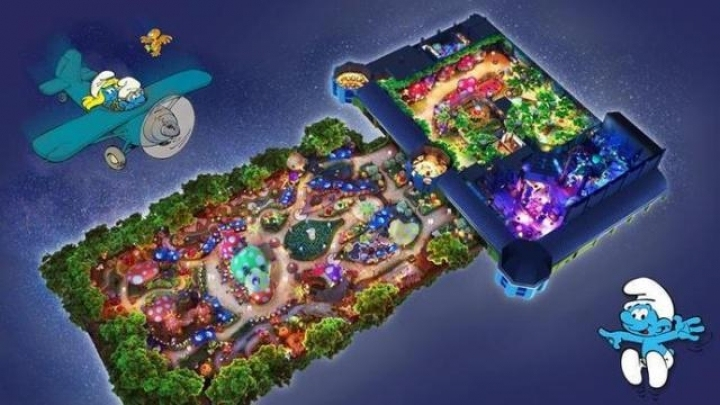 Asia Pacific's first Smurfs-themed park to open in Shanghai