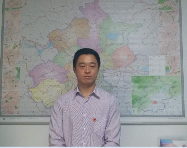 Ji Xinrong is vice manager from the Transport Network Department with the company.[Photo: from China Plus]