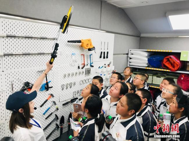 A Mars simulation base debuted in Jinchang, Gansu province on Wednesday, April 17, 2019. Covering 67 square kilometers, the site allows its visitors to get a taste of the Mars living experience. [Photo: Chinanews.com]