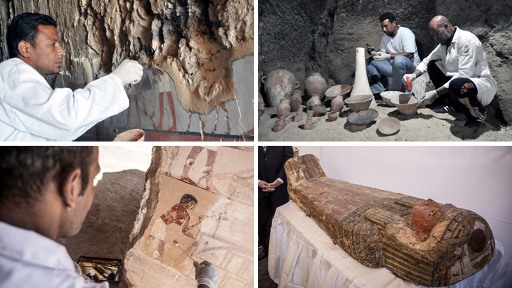 Egypt announces new discovery of 3,500-year-old tomb in Luxor