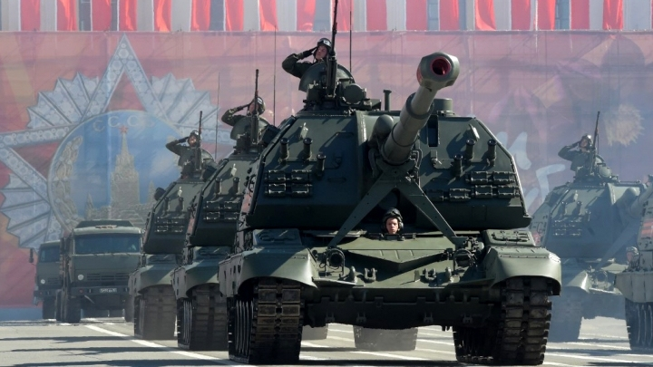 Russia marks 74th anniversary of victory over Nazi Germany in WWII