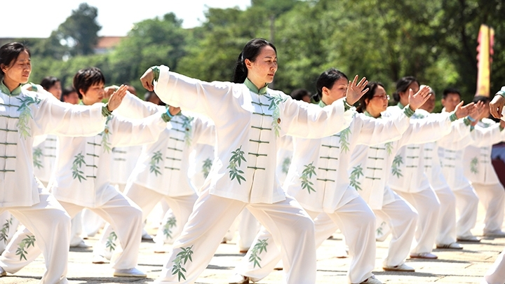 """Tai Chi Month"" kicks off in central China"