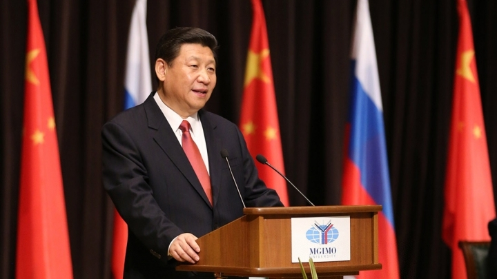 China-Russia ties at a historic high point and continue to improve