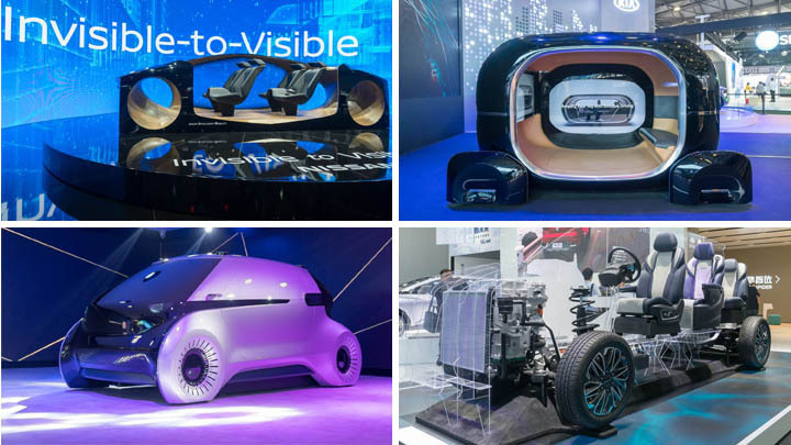 CES Asia showcases smartest self-driving cars