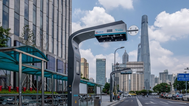 New fast charge stations installed in Shanghai