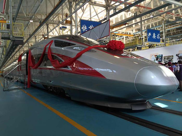 China's high-speed train 'Fuxing'. [File photo: people.cn]