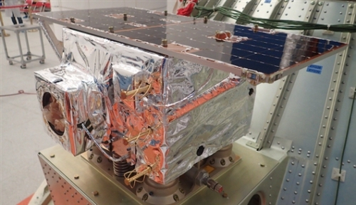 The Tianzhi-1 software-defined satellite. [Photo: Chinese Academy of Sciences]