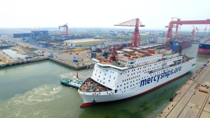 World's largest unofficial hospital ship undocks from Tianjin