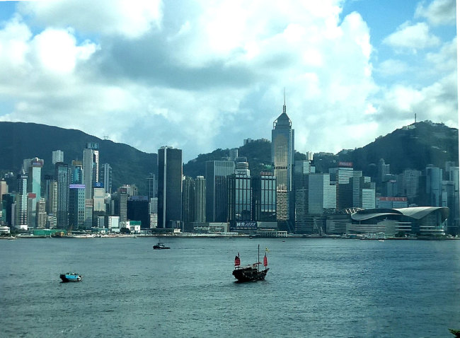 The Victoria Harbour in Hong Kong. [File photo: IC]
