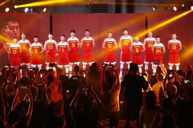 the best attitude 25e33 13c9d Nike presents new jerseys for Chinese national basketball ...