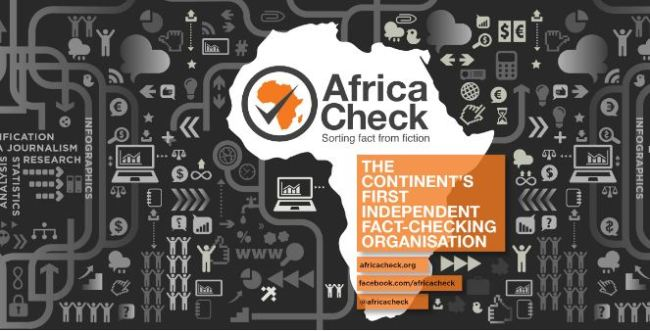 Africa Check announced their partnership with Facebook in adding other languages to fact check news on the social media and reduce the spread of misinformation. [Photo: Africa Check facebook page]