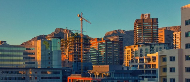 Sunrise over Cape Town, South Africa. [Photo: World Economic Forum website]