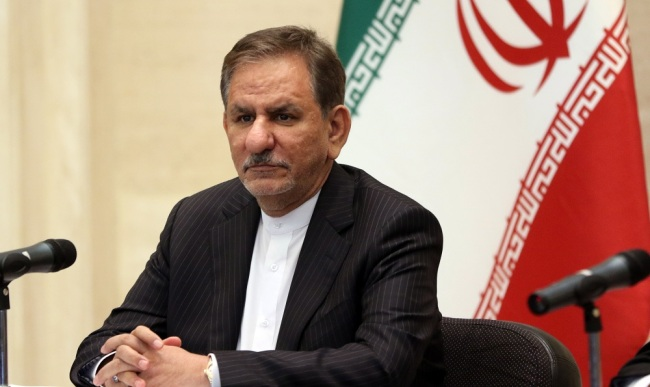 Iranian Vice President Eshaq Jahangiri. [File Photo: EPA via IC/YOUSSEF BADAWI]