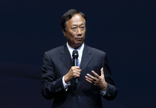 Foxconn founder Terry Gou [File photo: VCG]
