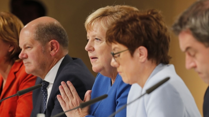Germany commits 100 bn euros for climate as protests heat up